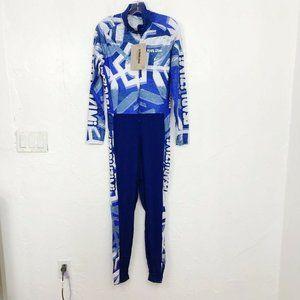 Pearl iZumi NEW 'Pro Nordic Suit' Blue Jumpsuit